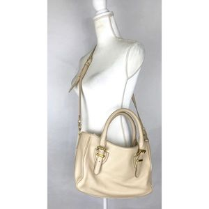 J Crew Crossbody Handbag Ivory Cream Satchel